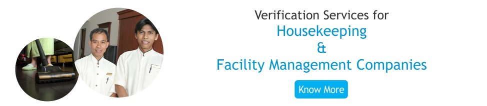 Business services for housekeeping and facilities management companies